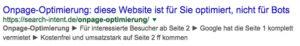 Bei Google auf Seite 2 und Seite 3 – als Qualitätssignal für die Nutzer